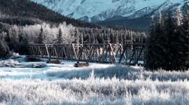 Bridges In Winter Photo Download#1