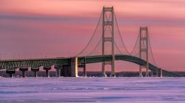 Bridges In Winter Photo Free#1