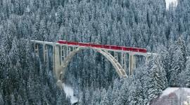 Bridges In Winter Wallpaper