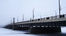 Bridges In Winter Wallpaper Download