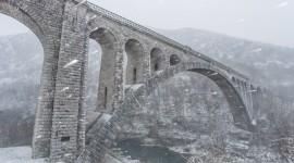 Bridges In Winter Wallpaper Full HD#3