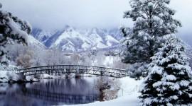 Bridges In Winter Wallpaper Gallery
