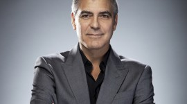 George Clooney Desktop Wallpaper HD