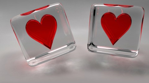 Glass Heart wallpapers high quality