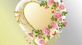 Heart Of Flowers Image