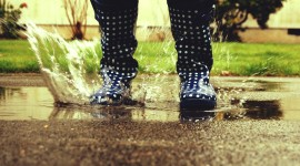Jump In Puddles Photo Download