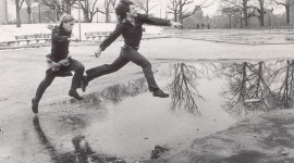 Jump In Puddles Photo Download#1