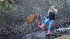 Jump In Puddles Photo Free#1