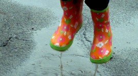 Jump In Puddles Wallpaper For Android