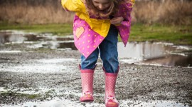 Jump In Puddles Wallpaper For Android#1