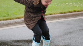 Jump In Puddles Wallpaper For IPhone