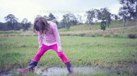 Jump In Puddles Wallpaper Free