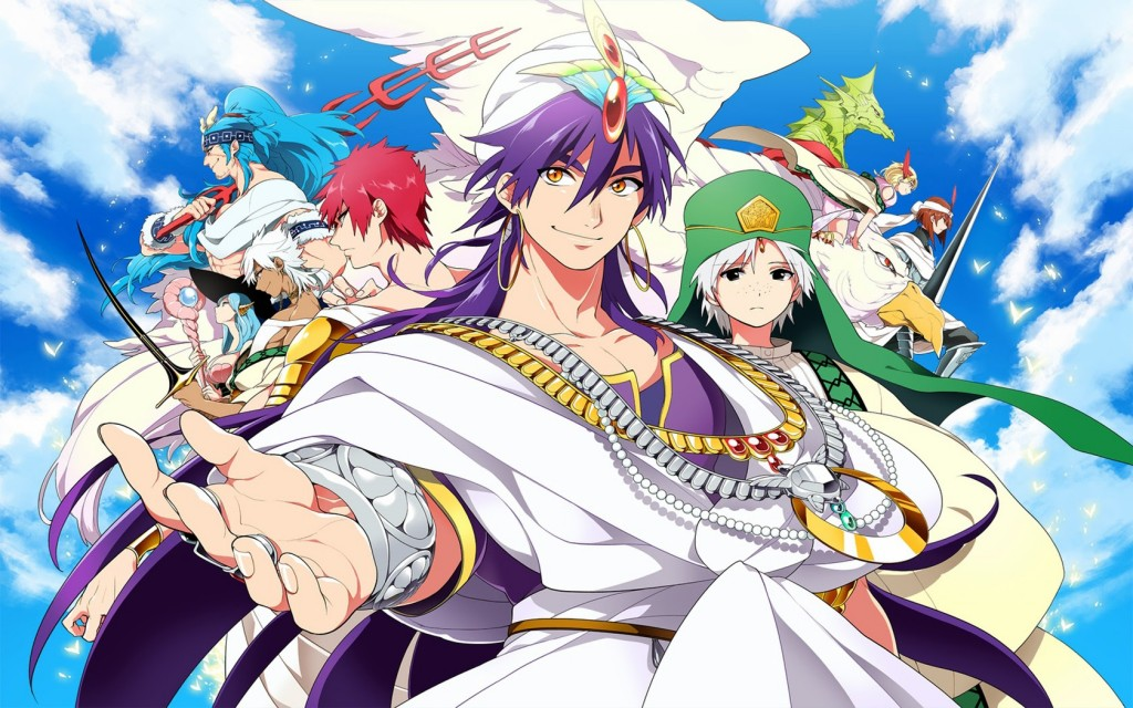 Magi The Labyrinth Of Magic wallpapers HD