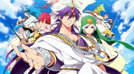 Magi The Labyrinth Of Magic Wallpaper