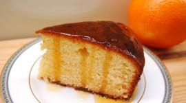 Orange Cake Desktop Wallpaper HD