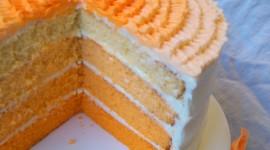 Orange Cake Photo Free