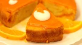 Orange Cake Wallpaper 1080p