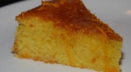 Orange Cake Wallpaper