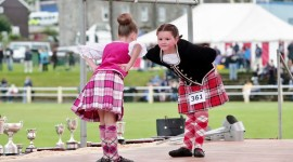 Scottish Dancing Wallpaper