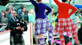 Scottish Dancing Wallpaper Free