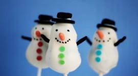 Snowmen Wallpaper
