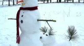 Snowmen Wallpaper For IPhone Download
