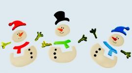 Snowmen Wallpaper For PC