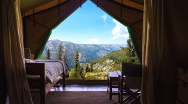 Stay In Tents Photo Free