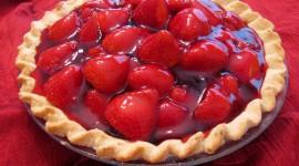 Strawberry Pie Photo Free#1