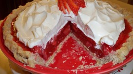 Strawberry Pie Wallpaper For Desktop