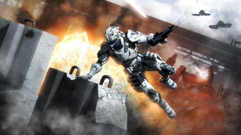 Vanquish Game wallpapers HD