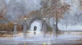 Walking In The Rain Image