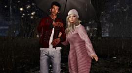 Walking In The Rain Image Download