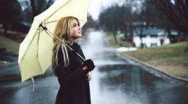 Walking In The Rain Wallpaper 1080p