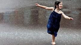 Walking In The Rain Wallpaper