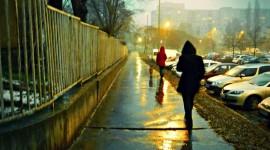 Walking In The Rain Wallpaper For Mobile