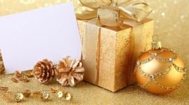 4K Christmas Gifts Wallpaper Download