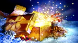 4K Christmas Gifts Wallpaper Free
