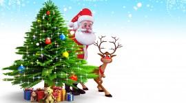 4K Christmas Reindeer Best Wallpaper