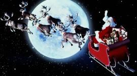 4K Christmas Reindeer Image