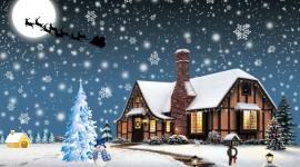 4K Christmas Reindeer Picture Download