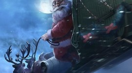 4K Christmas Reindeer Wallpaper For IPhone