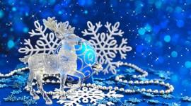 4K Christmas Reindeer Wallpaper For PC