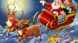 4K Christmas Reindeer Wallpaper Free