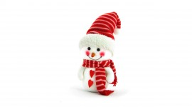 4K Christmas Snowman Photo#1