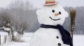 4K Christmas Snowman Photo#2