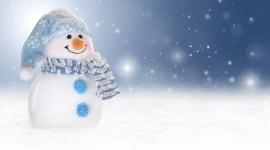 4K Christmas Snowman Wallpaper Free