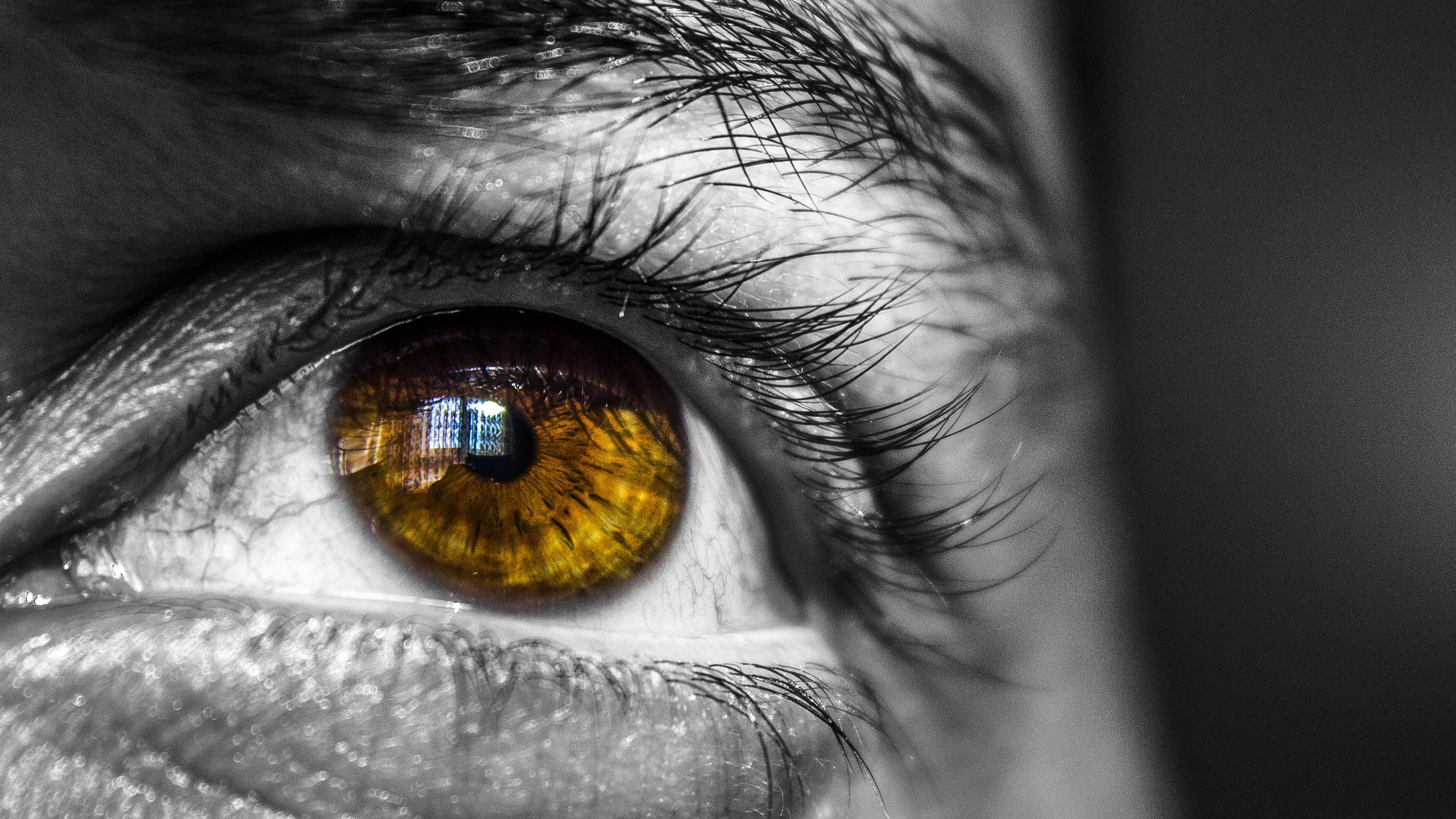 4K Eyes Wallpaper For PC