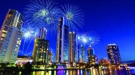 4K Fireworks Desktop Wallpaper