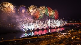 4K Fireworks Photo